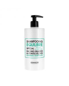 Shampooing équilibre racines grasses pointes sèches 500ml