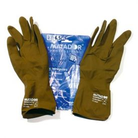 Gants latex 6.5