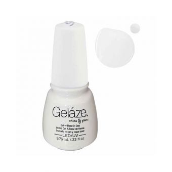 Vernis semi-permanent GELAZE White On White
