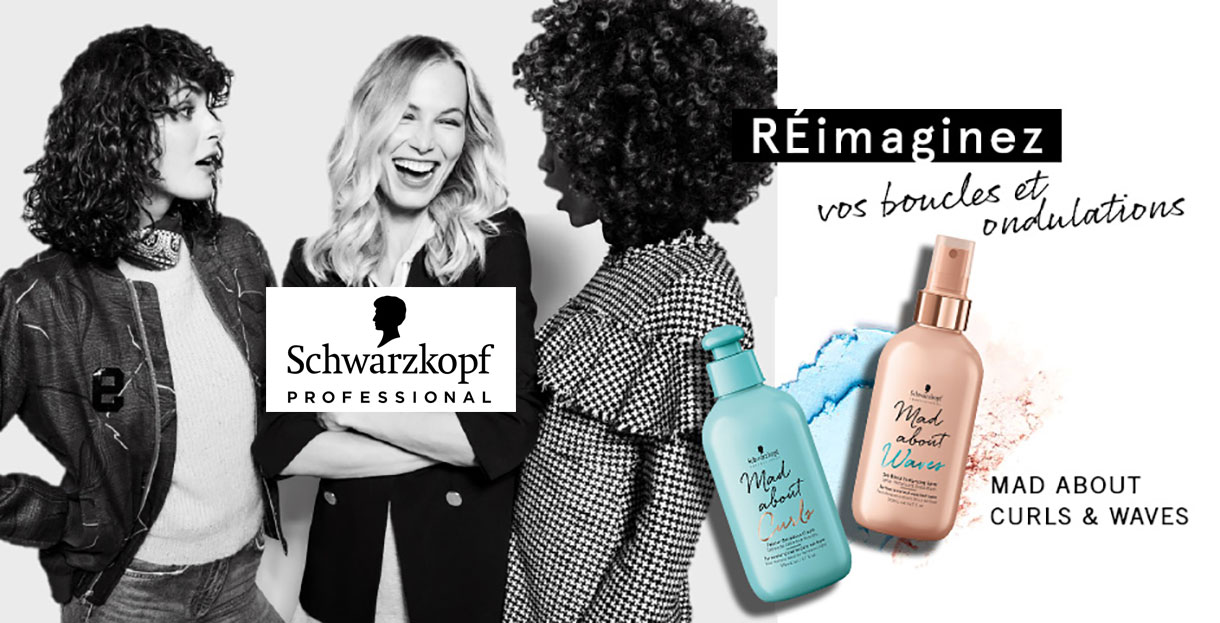Mad About Curls & Waves by Schwarzkopf !