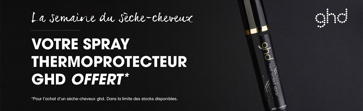 HAIR DRYER'S WEEKS : Votre Spray Thermo Protecteur ghd offert !