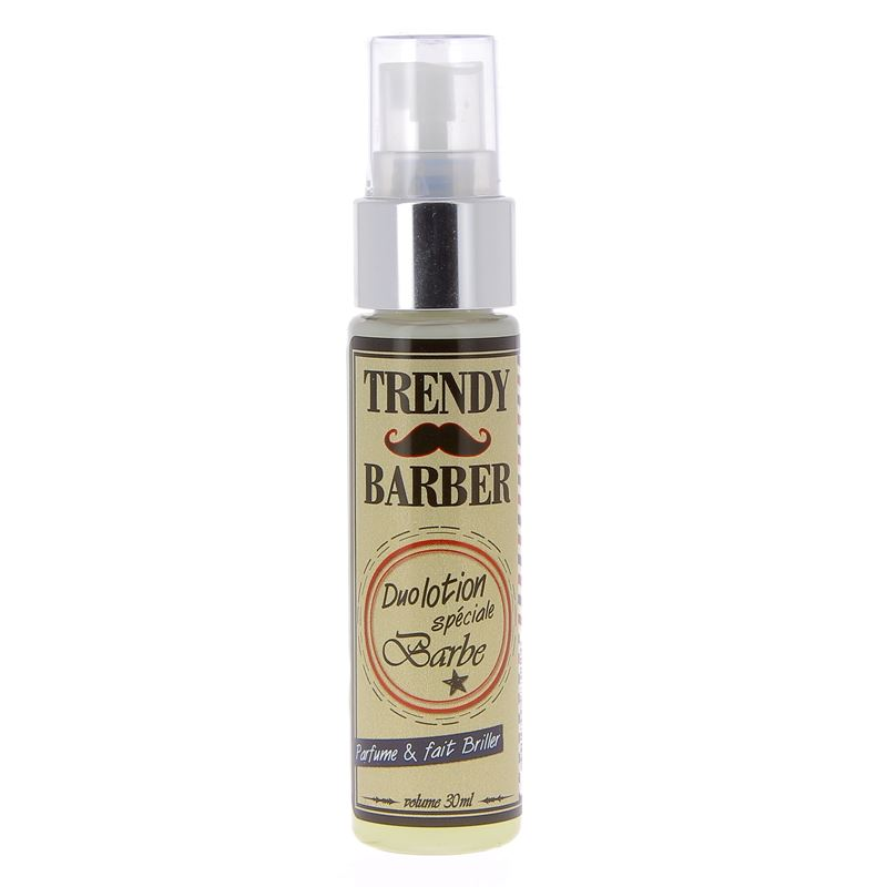 Duo lotion spéciale barbe TRENDY BARBER